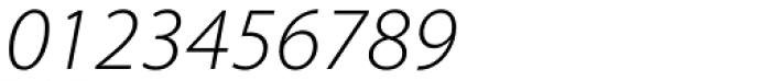 Myriad Pro SemiExt Light Italic Font OTHER CHARS