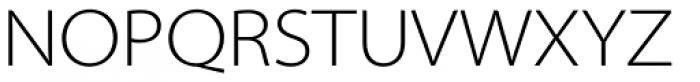 Myriad Pro SemiExt Light Font UPPERCASE