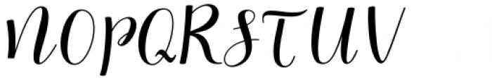 Myrtle Script Regular Font UPPERCASE