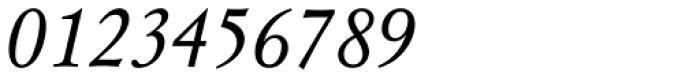 Mysl Italic Font OTHER CHARS