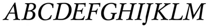 Mysl Italic Font UPPERCASE