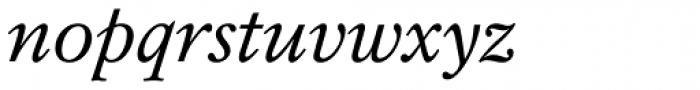 Mysl Italic Font LOWERCASE