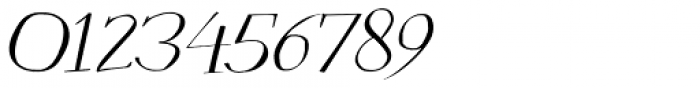 Mysterious Italic Font OTHER CHARS