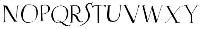 Mysterious Regular Font UPPERCASE