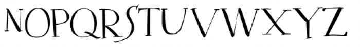 Mysterious Regular Font LOWERCASE