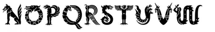 Mythos Std Font UPPERCASE