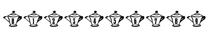 mzw teaparty Font OTHER CHARS