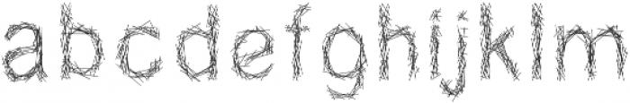 NATIONAL261 ttf (400) Font LOWERCASE