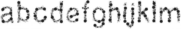 NATIONAL262 ttf (400) Font LOWERCASE