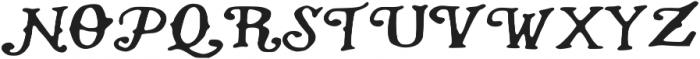 NATIVE ttf (400) Font UPPERCASE