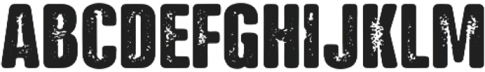 NATRON Rough Bold ttf (700) Font UPPERCASE
