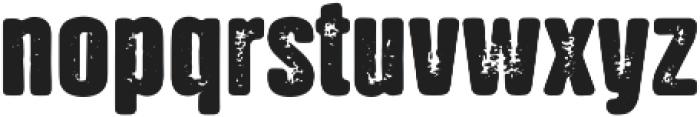 NATRON Rough Bold ttf (700) Font LOWERCASE
