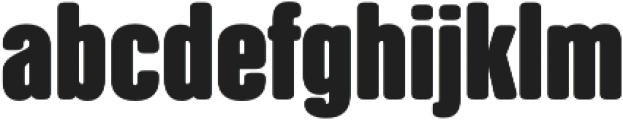 NATRON otf (700) Font LOWERCASE