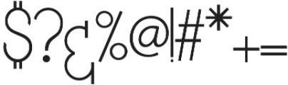 NAVIRA FONT otf (400) Font OTHER CHARS