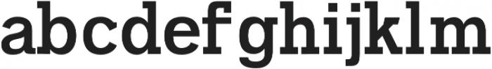 Naava Regular otf (400) Font LOWERCASE