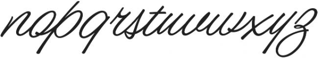 Nacho_Script_Pro otf (400) Font LOWERCASE