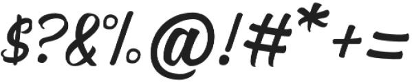 Nadheeya Script otf (400) Font OTHER CHARS