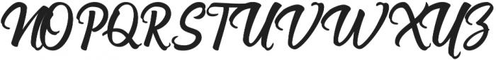 Nadheeya Script otf (400) Font UPPERCASE