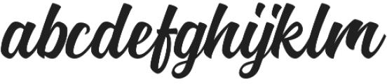 Nadheeya Script otf (400) Font LOWERCASE