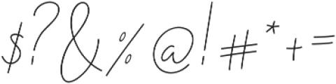 Nadine ttf (400) Font OTHER CHARS