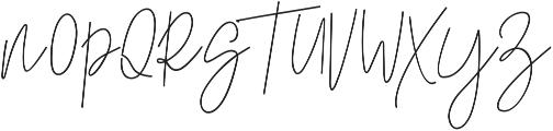 Nadine ttf (400) Font UPPERCASE