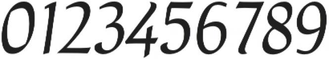 Naej Italic otf (400) Font OTHER CHARS
