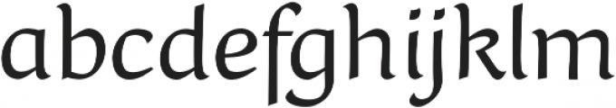 Naej Regular otf (400) Font LOWERCASE
