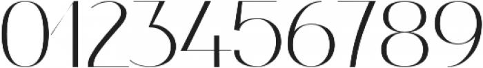 Nagato otf (400) Font OTHER CHARS