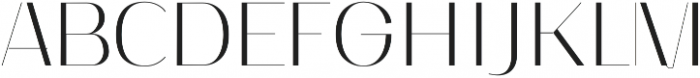 Nagato otf (400) Font UPPERCASE