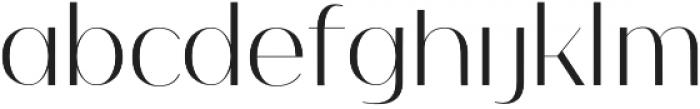 Nagato otf (400) Font LOWERCASE
