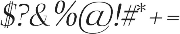 Naia book-italic otf (400) Font OTHER CHARS
