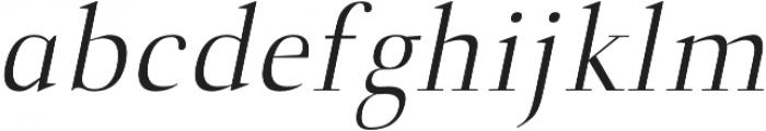 Naia book-italic otf (400) Font LOWERCASE