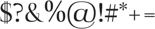 Naia regular otf (400) Font OTHER CHARS