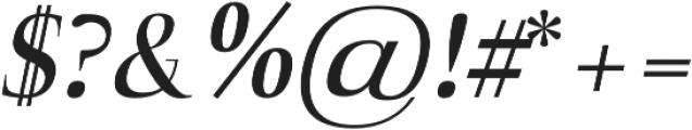 Naia semi-bold-italic otf (600) Font OTHER CHARS