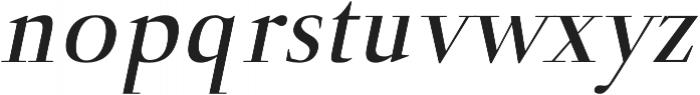 Naia semi-bold-italic otf (600) Font LOWERCASE