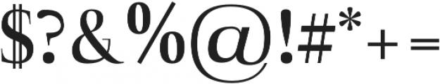 Naia semi-bold otf (600) Font OTHER CHARS