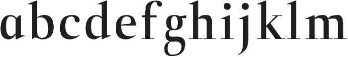 Naia semi-bold otf (600) Font LOWERCASE