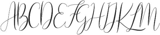Naibacarte Regular otf (400) Font UPPERCASE