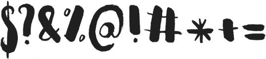 Naila Script Typeface ttf (400) Font OTHER CHARS