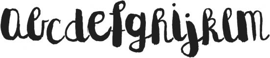 Naila Script Typeface ttf (400) Font LOWERCASE