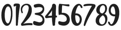 Naishila Caps Regular otf (400) Font OTHER CHARS