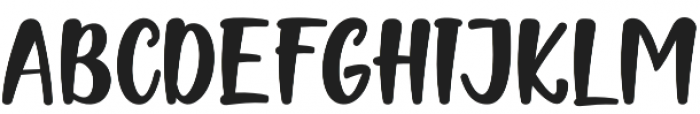 Naishila Caps Regular otf (400) Font LOWERCASE
