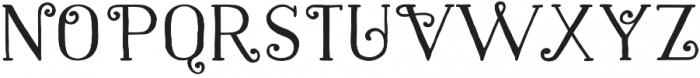 Naive Fantaisies Bold otf (700) Font LOWERCASE