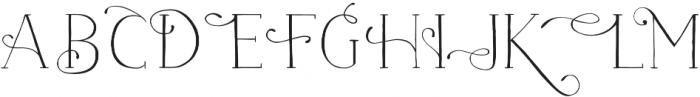 Naive Fantaisies Light otf (300) Font UPPERCASE