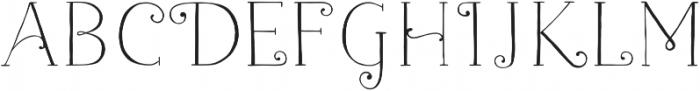 Naive Fantaisies Light otf (300) Font LOWERCASE