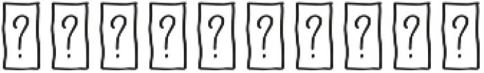 Naive Fantaisies Medium otf (500) Font OTHER CHARS
