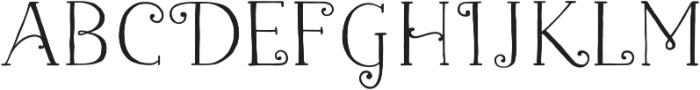 Naive Fantaisies Medium otf (500) Font LOWERCASE