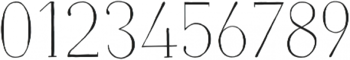 Naive Light otf (300) Font OTHER CHARS