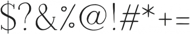 Naive Medium otf (500) Font OTHER CHARS
