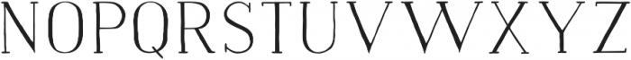 Naive Medium otf (500) Font UPPERCASE